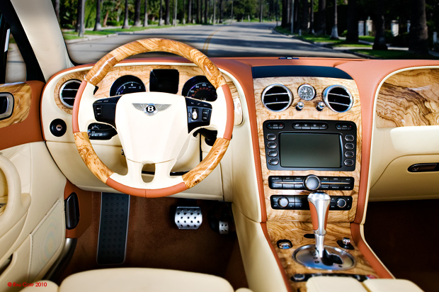 1st bentley continental gt speed wood steering wheel in the world automotive woodwork. Black Bedroom Furniture Sets. Home Design Ideas