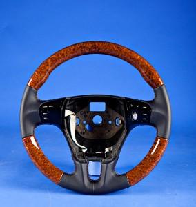 Exotic Amboyna Burl is perfect for Luxury car like Bentley