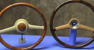 Pre-Airbag Bespoke Steering Wheel