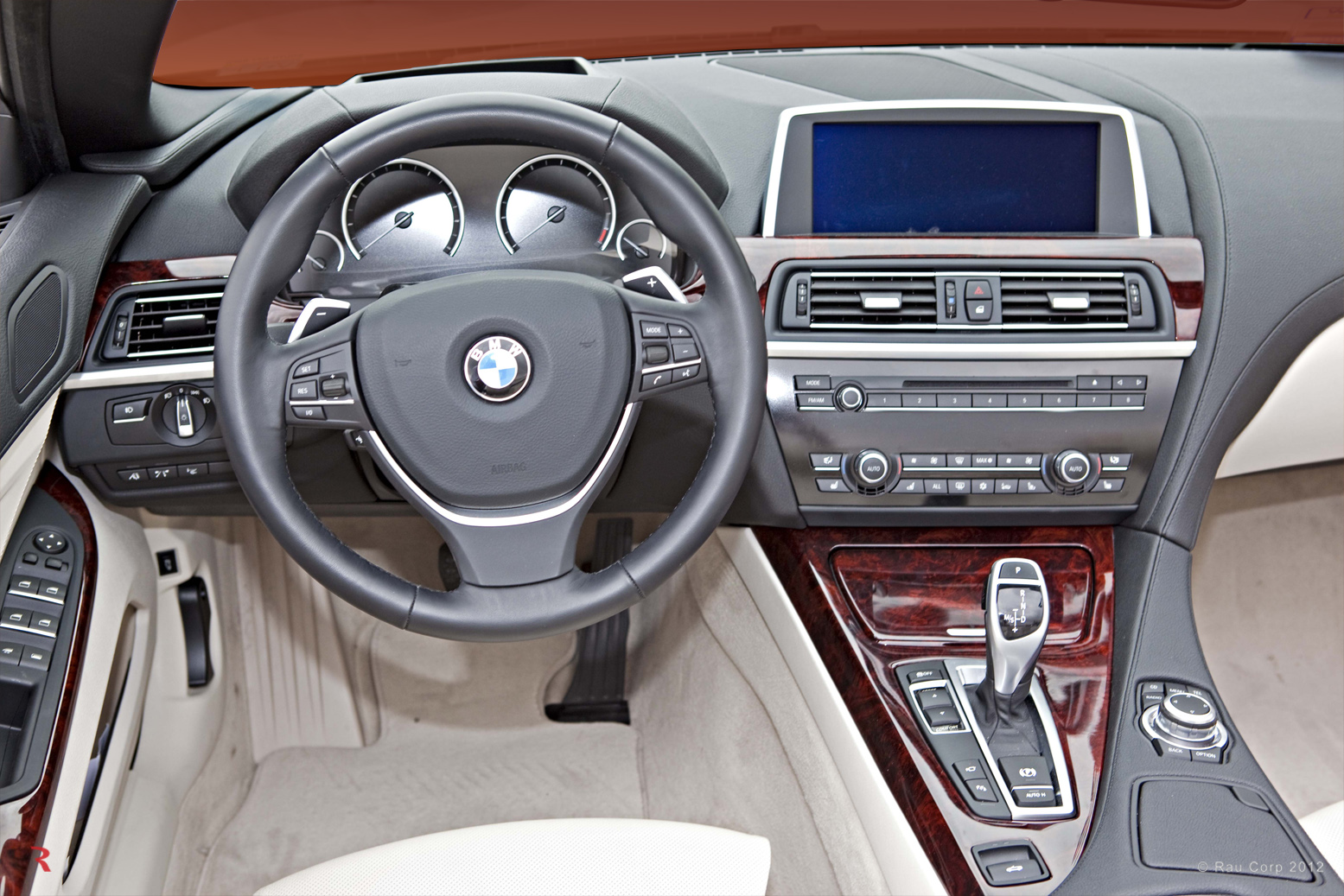 BMW 650i 2012 Interior Wood Makeover Automotive Woodwork