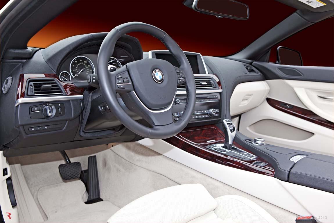 2009 bmw 650i interior