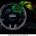 Custom Evoque Steering Wheel