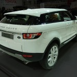 Evoque rear view