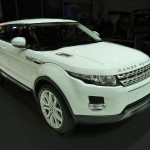 Evoque front view