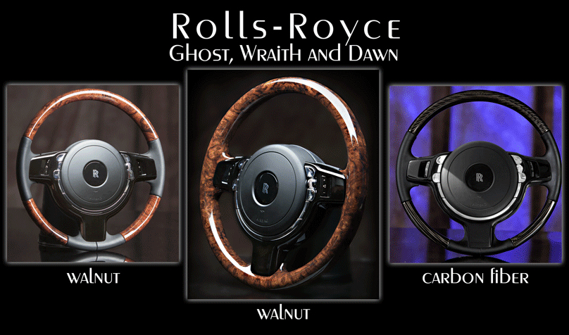 Rolls-Royce steering wheels