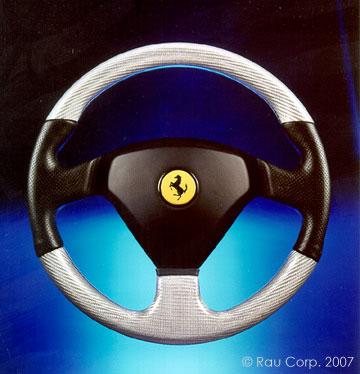 Ferrari on Custom Automobile Interior  Ferrari Customization  Custom Steering